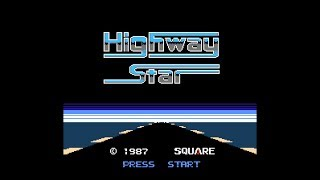 (Real 3D) Highway Star - NES Longplay (Famicom 3D) (Rad Racer)