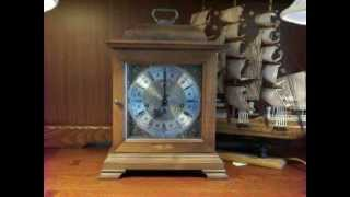 Hamilton Westminster Chime Bracket Mantel Clock