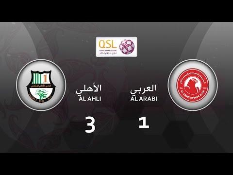 Al Ahli 3 - 1 Al Arabi (week 23)