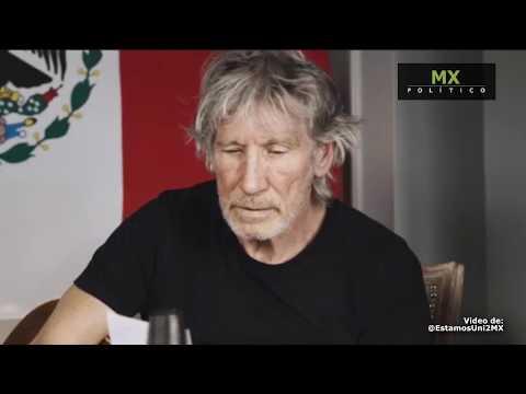 Roger Waters dedica mensaje de apoyo a México