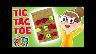 DIY Tic Tac ToeCrafty Carol Crafts Crafts for Kids | Cool School