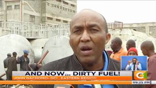 100 arrested over dirty fuel in Nairobi
