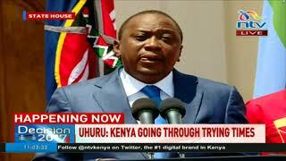 President Uhuru Kenyatta calls for a period of prayer and reconciliation for Kenya