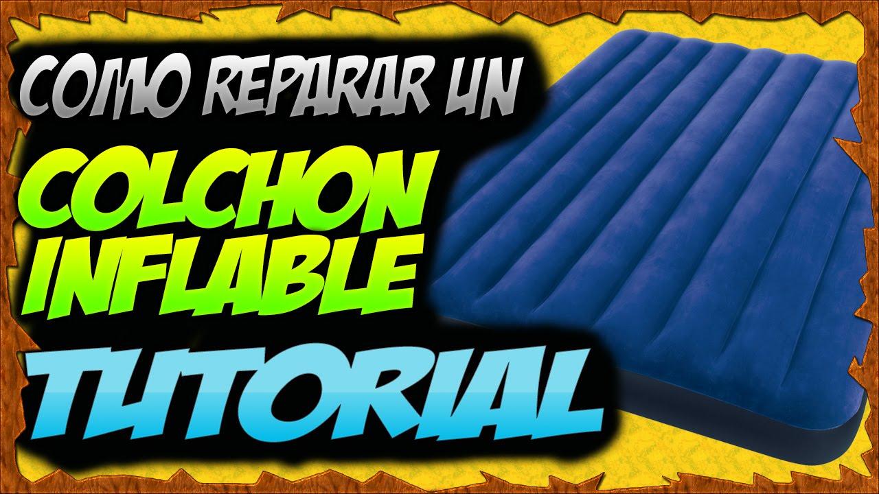 Como reparar un colch n inflable paso a paso youtube for Parches para piscinas de plastico