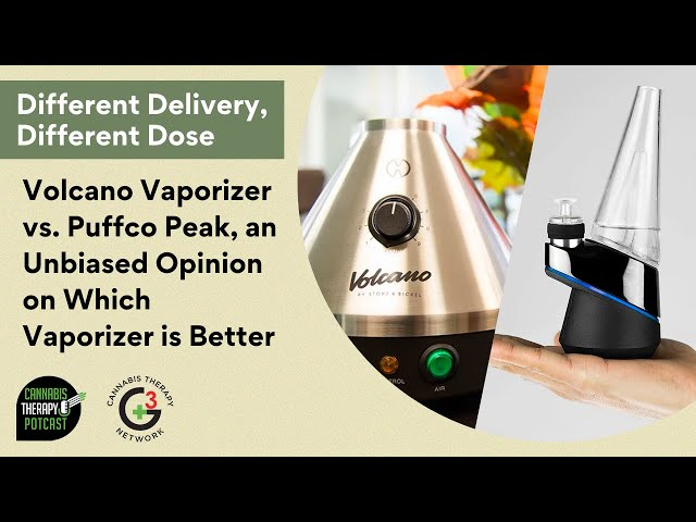 Volcano Vaporizer vs. Puffco Peak | An Unbiased Opinion On Which Vaporizer Is Better