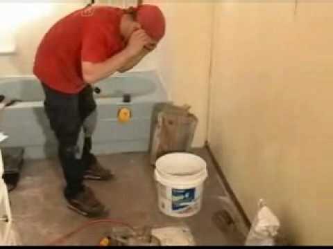 Floor Tile Mortar Part 2 How To Mix Floor Tile Mortar Youtube