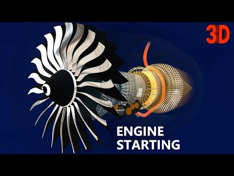 Operation of Jet Engines : Turbofan | Part 1 : Starting | Boeing 777-300ER | GE90-115B