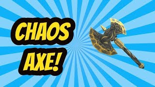 Getting Chaos Axe In Roblox Assassin