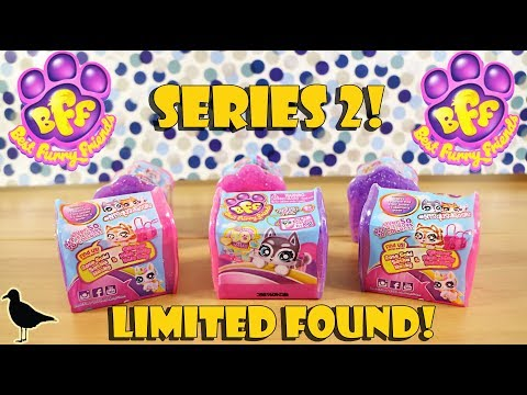 BFF Best Furry Friends Series 2 Toy Opening! Limited Edition Found!   Birdew Reviews