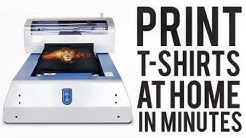 Print T-shirts at Home..The DTG Machine..The Ultimate Upgrade!!