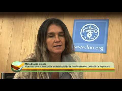 Global Soil Partnership interviews - Maria Beatriz Giraudo