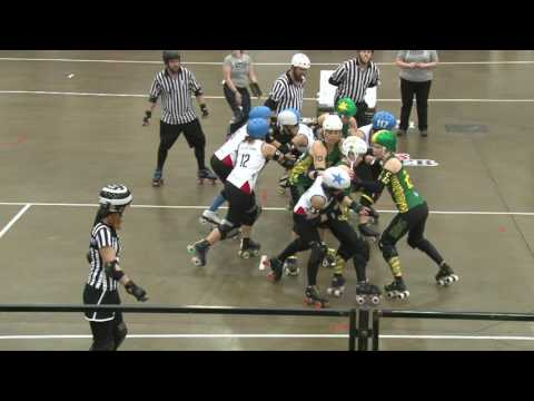 Australia vs Italy Roller Derby World Cup 2014