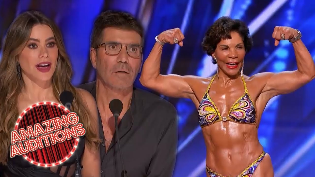 STRONGEST Woman In The World?! 73 Year Old BODYBUILDER On AGT 2020 | Amazing Auditions