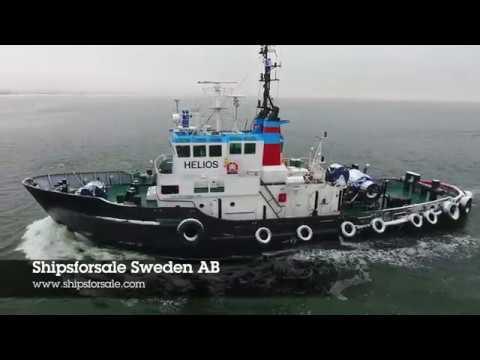 Shipsforsale Sweden VSP Tractor Tug Helios, 36 t bollard pull Voith Schneider 28G for sale