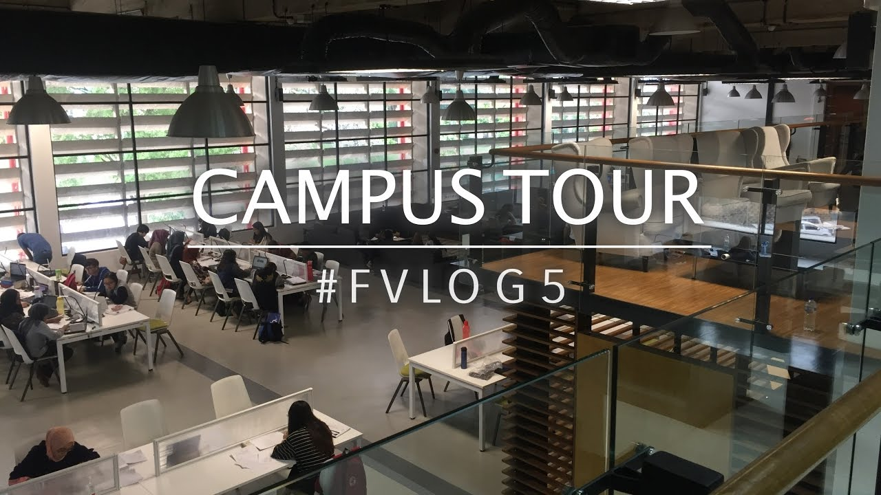 Campus Tour University Of Malaya Library Fvlog5 Youtube