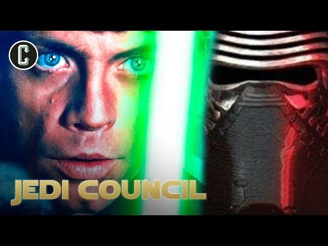 Did Kylo Ren Get His Lightsaber From Luke's Green Saber? - Jedi Council