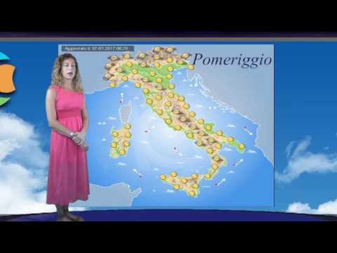 Meteo Italia 8 luglio 2017