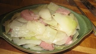 Ham And Cabbage With White Potatoes  Video - 46