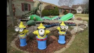 Minions & Yard Art Near Milwaukee, WI