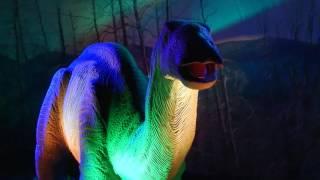 Мяукающий динозавр. Шоу Динозавров в ЦДМ на Лубянке