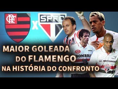 Maior Goleada da História do Flamengo sobre o São Paulo - YouTube ece61eae4a25d