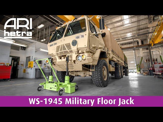 WS-1945 Military Floor Jack