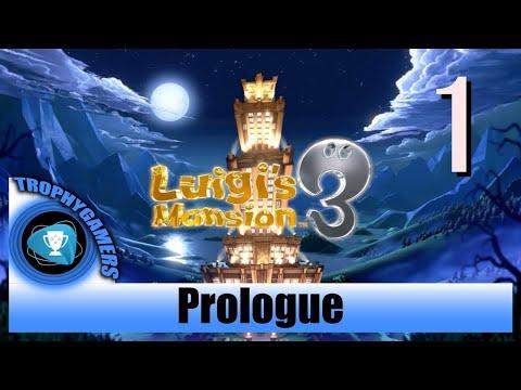 Luigi's Mansion 3 - Prologue, Introduction and Opening Cutscene - Walkthrough Part 1 |