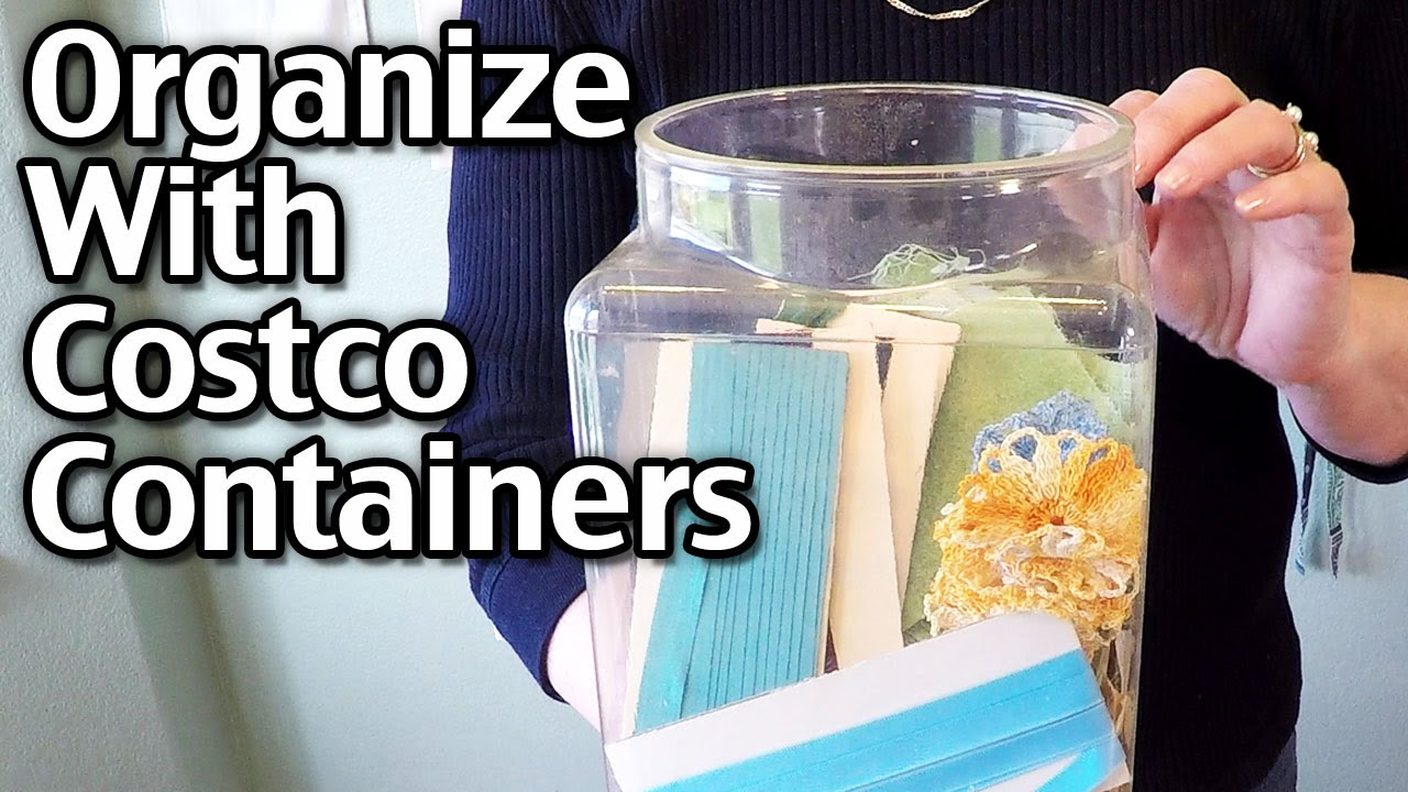 Organizing With Costco Containers Peppermints Container YouTube