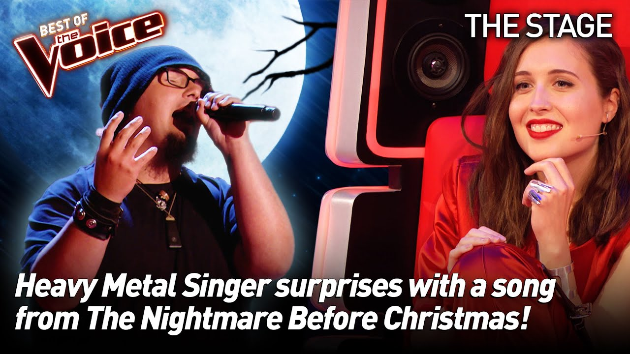 Patrick Bulluck sings 'Jack's Lament' from The Nightmare Before Christmas | The Voice Stage #34