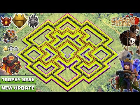 NEW TH10 Base 2018 | Best Town Hall 10 (TH10) Trophy Base | Clash of Clans 2018