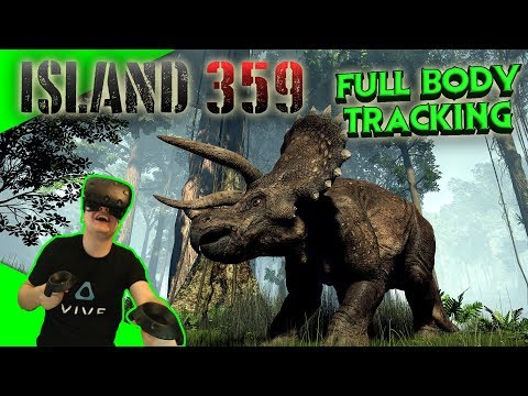 Jurassic World 2 in Virtual Reality? - Island 359 - Vollversion mit Full Body Tracking [VR][Vive]