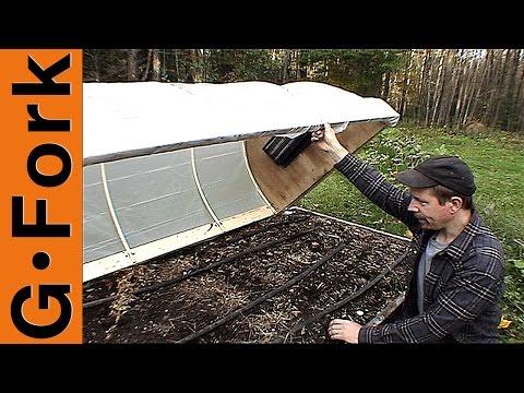 Mini Greenhouse Hoop House 1 (Updated) - GardenFork