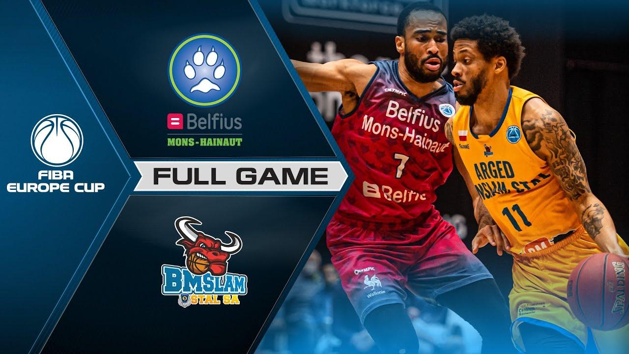 Quarter-Finals: Belfius Mons-Hainaut v Arged BMSLAM Stal | Full Game - FIBA Europe Cup 2020-21