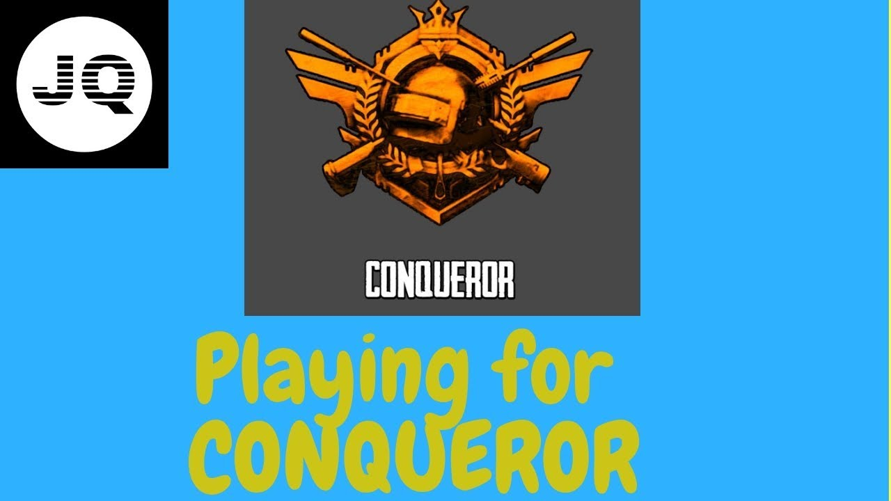 Pubg Playing For Conqueror Avatar Youtube