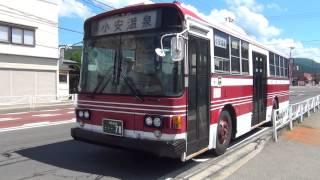 【HD・警笛】羽後交通 最後の5E 湯沢営業所前発車