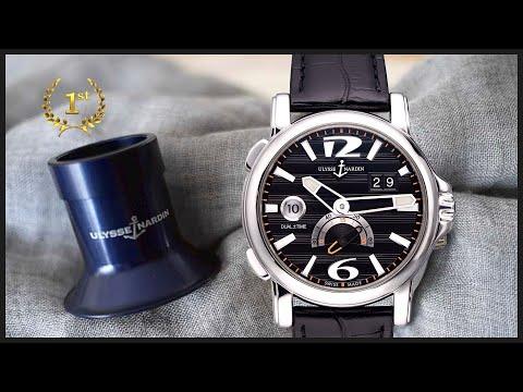 Бюджетные часы Ulysse Nardin Dual Time 42 Mm 243-55/62!