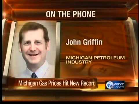 Record gas prices in Michigan