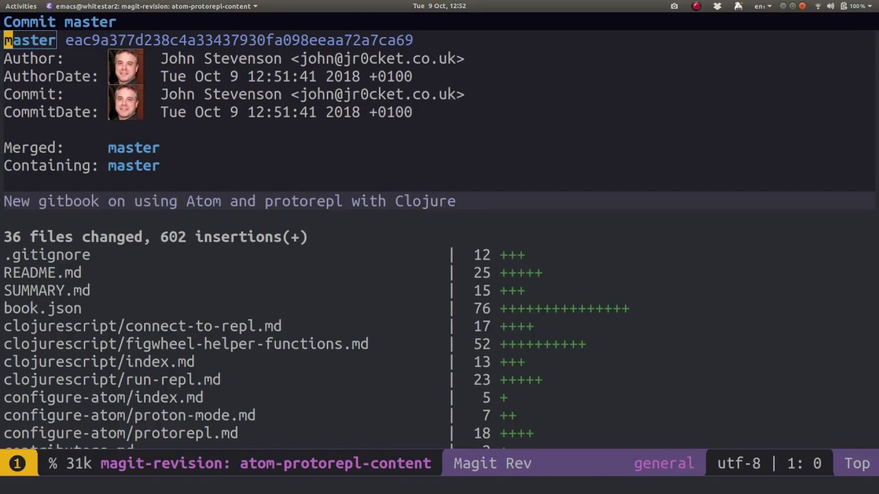 Spacemacs - Magit - Create a local git repository and add Github remote
