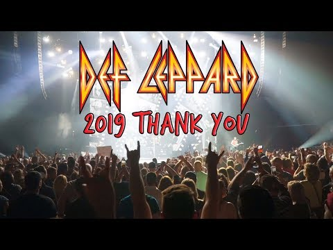 Jeff Stevens - Def Leppard Recapped 2019 in a New Video