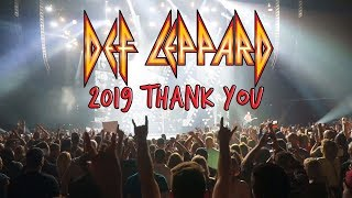 What a year! Def Leppard 2019 Recap