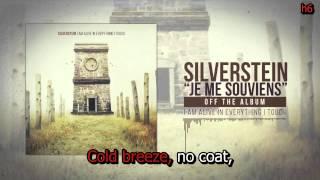 Silverstein - Je me Souviens (lyrics)