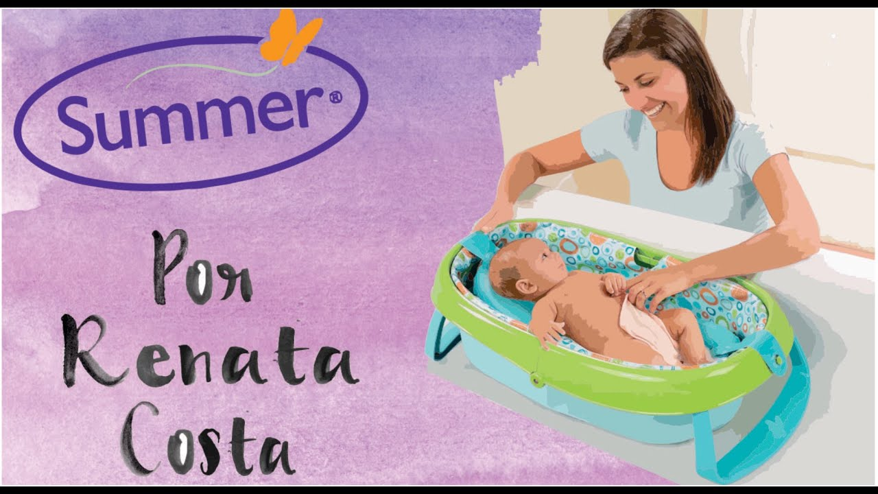 summer infant easystore comfort tub youtube summer infant easystore comfort tub
