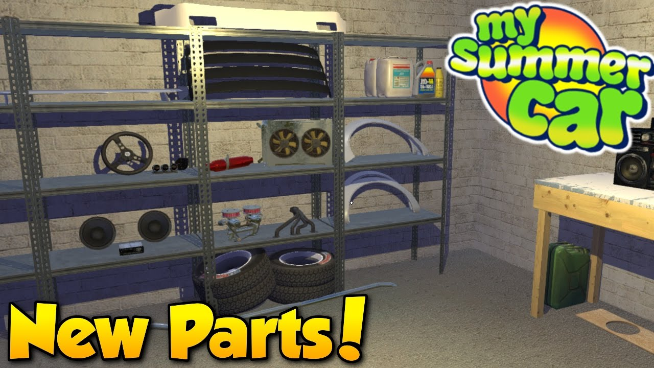 New Parts! - My Summer Car #8 - Ordering Performance Parts - YouTube
