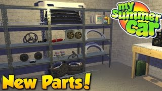 New Parts! - My Summer Car #8 - Ordering Performance Parts