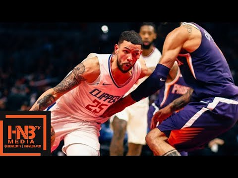 Phoenix Suns vs LA Clippers Full Game Highlights / Week 10 / Dec 20