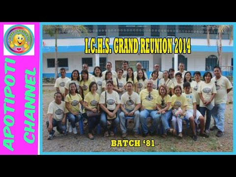 I.C.H.S GRAND REUNION 2014 |THROWBACK