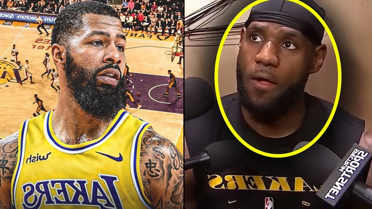 Lebron James Reacts To Markieff Morris Lakers Signing Calls Out Kawhi Kawhi Is A Fake Im Real Youtube