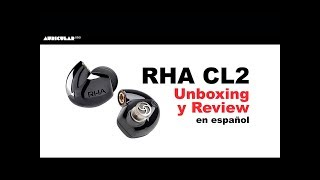 RHA CL2 Review y Unboxing