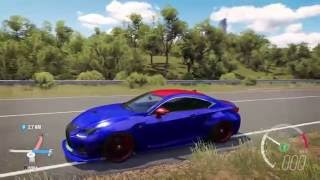Forza Horizon 3 Lexus RC F Wide-Body / Tuning