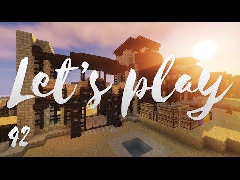Let's play Ep42 - La muraille de la cité - Minecraft fr - R3li3nt